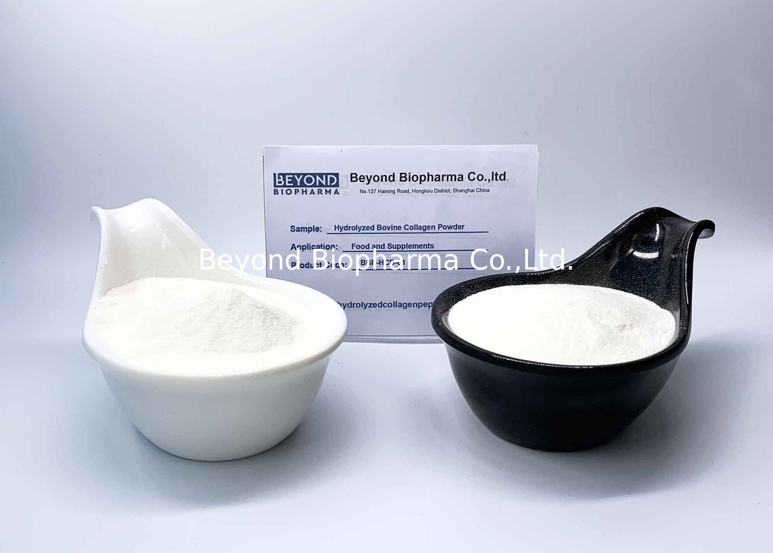 ISO Standard Hydrolyzed Collagen Powder Type 1 From Bovine Skin And Hides